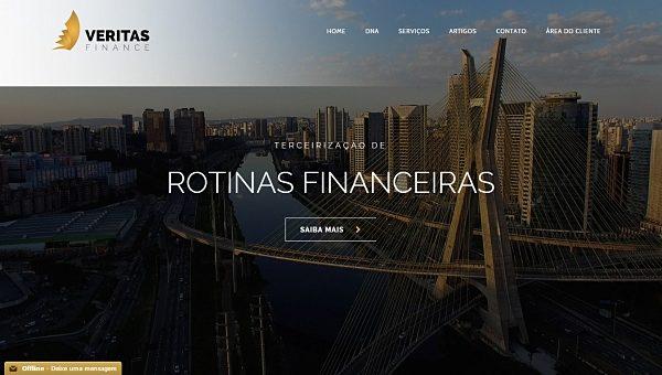 LogoMídia lança o novo site da Veritas Finance
