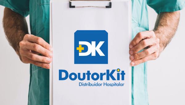Logo para distribuidora de produtos hospitalares